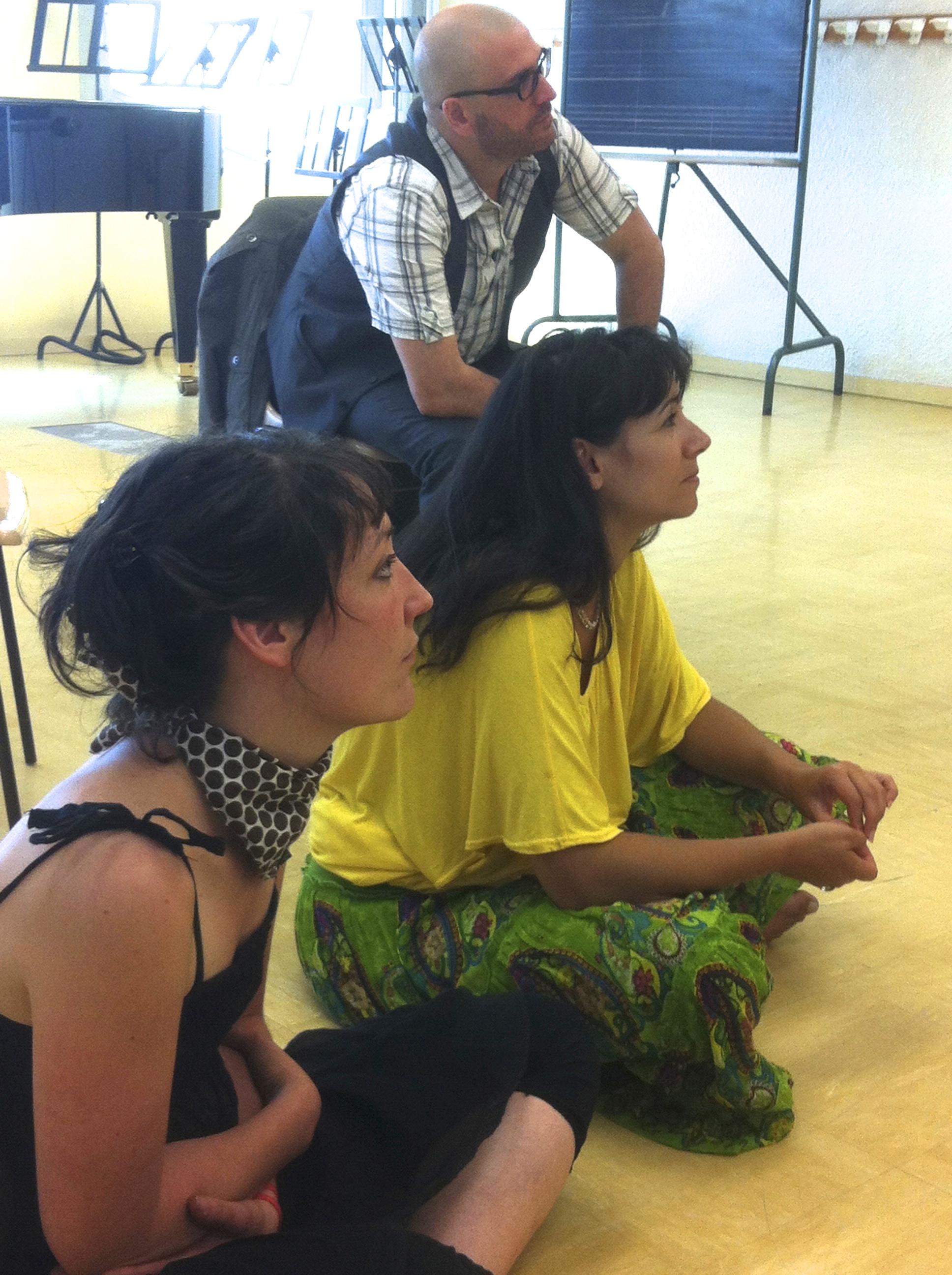 Fanny Sauvin, Franck Halimi, Maria Dueñas Ruiz (Photos-Amandine Feuillet)
