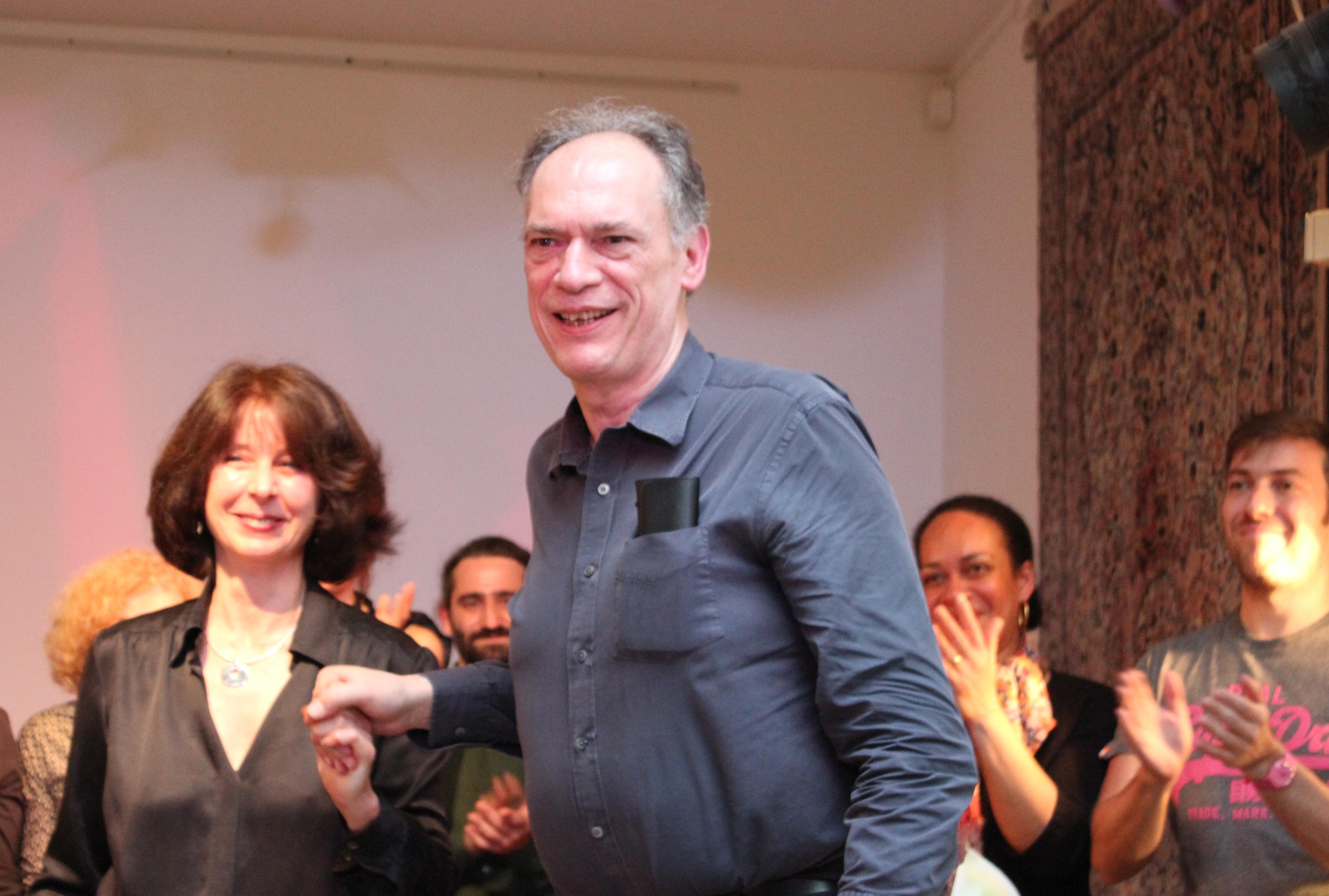 Michele Troise with pianist David Triestram