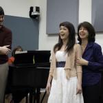 Daniel Fridley, Monica Rodriguez, Michele Troise