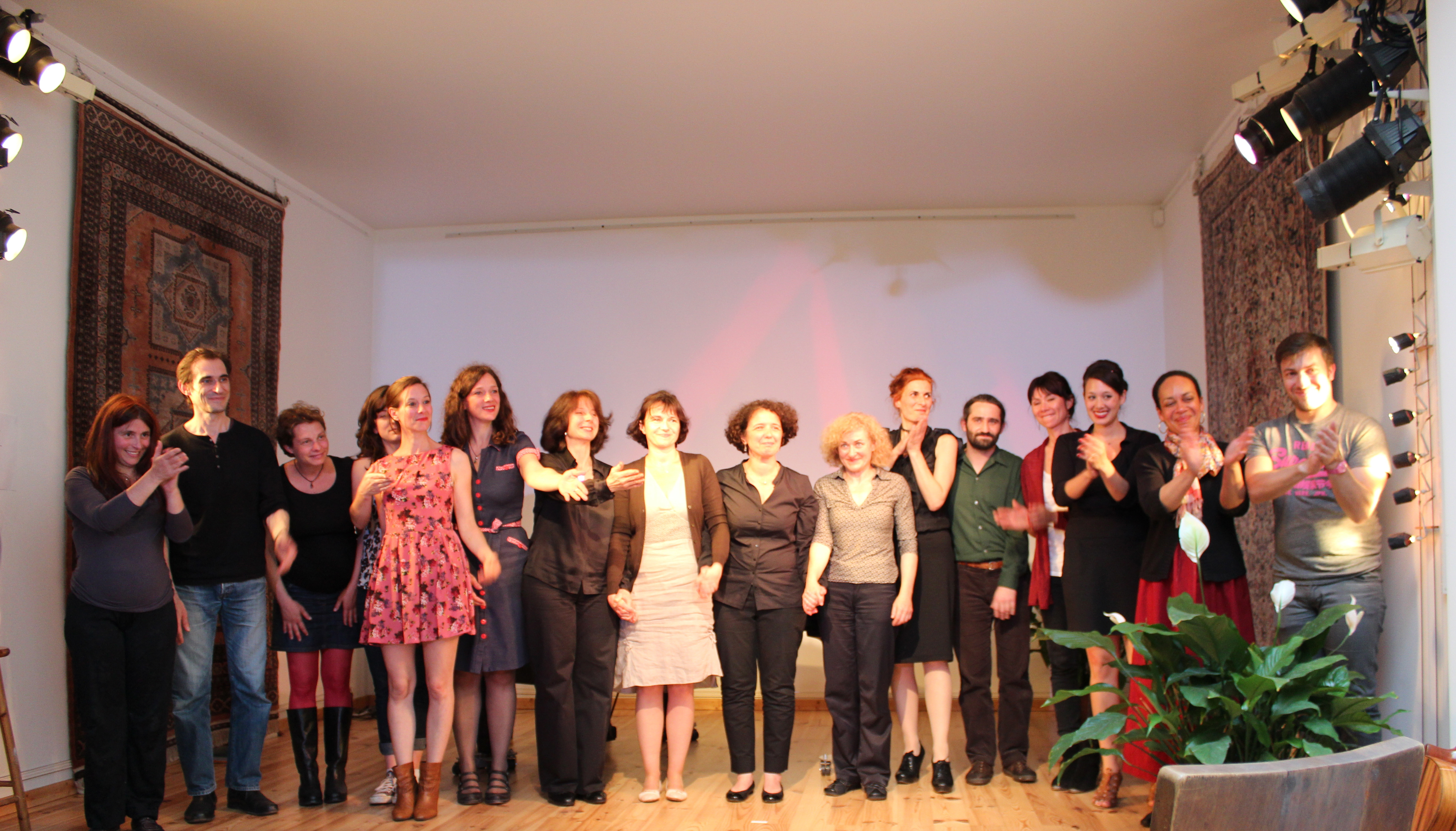 Chanter Autrement concert -- Atelier de la Main D'Or, Paris